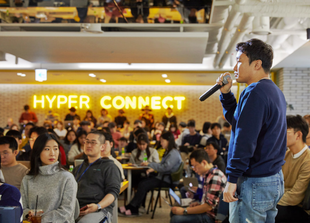Sang-il Ahn, Hyperconnect's CEO, won the EY Entrepreneur Of The Year Award